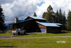 pagosa springs home before extensive custom remodel